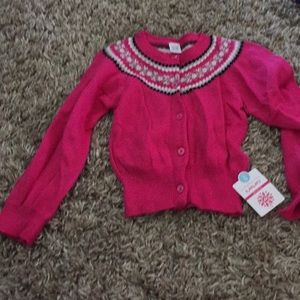 Girls sweater size 5 NWT